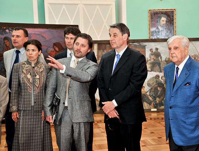 академия живописи глазунова: