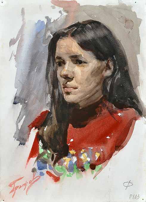Мастерская портрета живопись